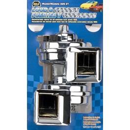 Model 225-2T Loud & Chrome® 12-Volt 115 Decibels 420/510 Hz Two Terminal