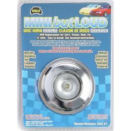 Model 250-2T  MINI but LOUD™ Chrome  12-Volt 110 Decibels 480 Hz Two Terminal