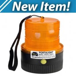 Model 3020-A Portalight® Amber Lens Battery Powered Warning Light