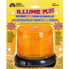 Model 3030MP-A ILLUME® Amber Lens LED 12-Volt Magnet Mount