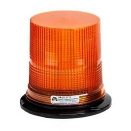 Model 3080PPM-A Apollo® 8 Amber Lens 12-60-Volt Permanent & Pipe Mount