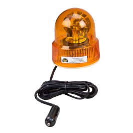 Model 3100-A/REF Beacon Light® Amber Lens 12-Volt Magnet Mount