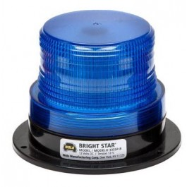 Model 3355P-B Bright Star™ Blue Lens 12-110-Volt Permanent Mount