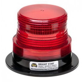 Model 3360P-R Bright Star™ Red Lens 12-110-Volt Permanent Mount
