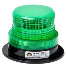 Model 3367P-G Bright Star™ Green Lens 12-110-Volt Permanent Mount