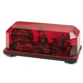 Model 3510M-R   Priority® 1 Red Lens 12-Volt Magnet Mount Halogen