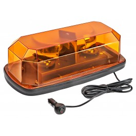 Model 3570M-A   Sirius® 2 Amber Lens 12-Volt Magnet mount Halogen