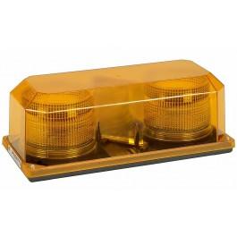 Model 3700P-A Priority® 2 Amber Lens 12-24 Volt Permanent Mount Strobe