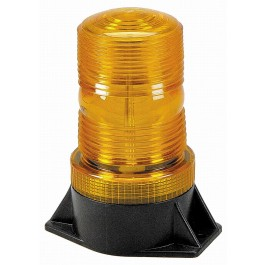 Model 3900-A Lightning Bright® Amber Lens 12-24-Volt Permanent Mount