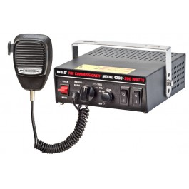Model 4200 / The Commissioner 200-Watt Electronic Siren & P.A.