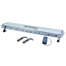 "Model 7800-A ON PATROL™ GEN 3 Technology Low Profile LED  Roof Mount 48""Light Bar"