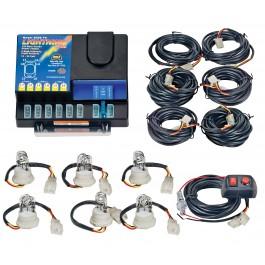 Model 8006-1-6C LIGHTNING® PLUS  6 Clear Strobe Bulbs