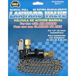 Model 803-LV   Manual Lanyard Air Valve