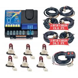 Model 8106XL-10-6R  LIGHTNING PLUS® XL  6 Red Strobe Bulbs
