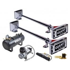 Model 827-858 Giant® Pro 130 Decibels Low / High Tone Solenoid Valve Operated