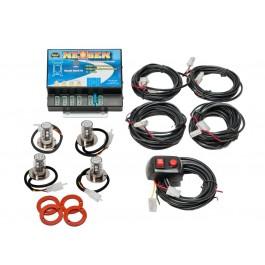 Model 8504-11CCAA  NEXGEN®  2 Clear-2 Amber LED Heads