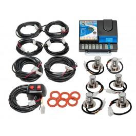 Model 8506-25-2C4B  NEXGEN® PLUS  2 Clear-4 Blue LED Heads