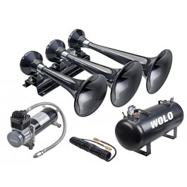 Model 855-860 Wolo® Express Pro Plus™  12-Volt 128 Decibels 308/337/366 Hz