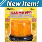 Model 3030MP-A ILLUME® Amber Lens LED 12-Volt Magnet Mount