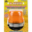 Model 3050-A/REF B-Seen® Amber Lens 12-Volt Magnet Mount
