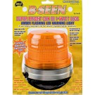Model 3050-A B-Seen® Amber Lens 12-Volt Magnet Mount