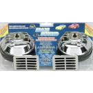 Model 325-2T   Maxi Sound® Chrome  12-Volt 115 Decibels  410/510 Hz Two Terminal