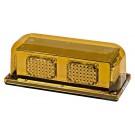 Model 3400P-A Priority® 3 Amber Lens 12-Volt Permenant Mount LED Technology