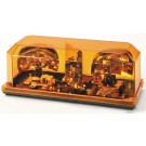 Model 3500P-A   Priority® 1 Amber Lens Permanent Mount Halogen