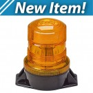 Model 3930-A Lightning Bright® 2 GEN 3 LED Amber Lens 12-24-Volt Permanent Mount