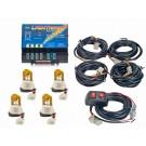Model 8004-3AAAA  LIGHTNING®  4 Amber Strobe Bulbs