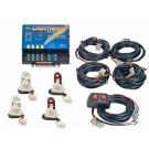 Model 8004-6CCRR  LIGHTNING®  2 Clear - 2 Red Strobe Bulbs
