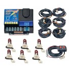 Model 8006-10-6R  LIGHTNING® PLUS  6 Red Strobe Bulbs