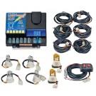 Model 8006-2-4C2A  LIGHTNING® PLUS  4 Clear - 2 Amber Strobe Bulbs