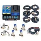 Model 8006-6-2C4B  LIGHTNING® PLUS  2 Clear - 4 Blue Strobe Bulbs