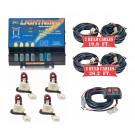Model 8104XL-7RRRR  LIGHTNING® XL  4 Red Strobe Bulbs