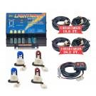 Model 8104XL-8BBRR  LIGHTNING® XL  2 blue - 2 Red Strobe Bulbs