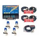 Model 8104XL-5BBBB  LIGHTNING® XL  4 Blue Strobe Bulbs