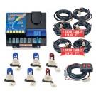 Model 8106XL-13-4B2R  LIGHTNING PLUS® XL  4 Blue - 2 Red Strobe Bulbs