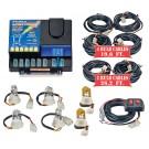 Model 8106XL-2-4C2A  LIGHTNING PLUS® XL  4 Clear - 2 Amber Strobe Bulbs