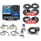 Model 8106XL-5-4C2B  LIGHTNING PLUS® XL  4 Clear - 2 Blue Strobe Bulbs