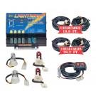 Model 8104XL-6CCRR  LIGHTNING® XL  2 Clear - 2 Red Strobe Bulbs