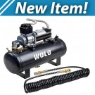 Model 858 Tornado® Heavy-Duty Compressor &  2.5-Gallon Tank