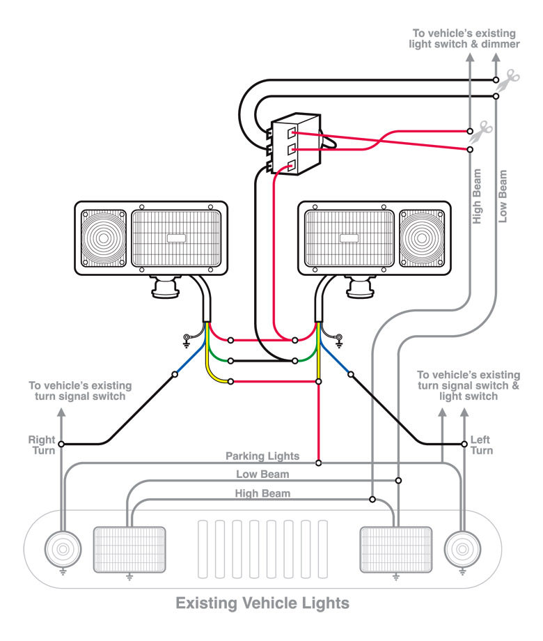 plow headlight wiring diagram wiring info u2022 rh cardsbox co meyer snow plow headlight wiring diagram snow plow light wiring diagram
